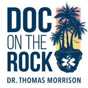 Logo: Doc On The Rock - Dr. Thomas Morrison