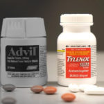 Advil greyed out next to Tylenol.